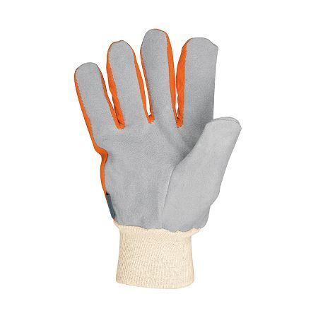 Truper Light-Duty Canvas & Leather Gloves