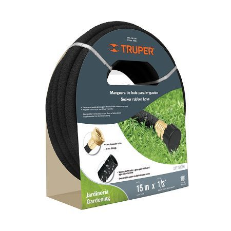 Truper Irrigation Hose 49.2 ft x 1/2