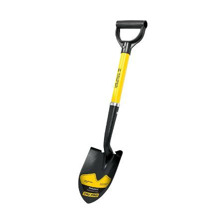 Truper Y-Handle Round-Point Shovel