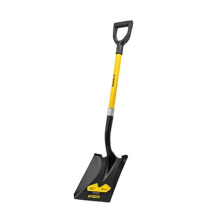 Truper D-Handle Square-Point Shovel