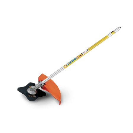 Stihl 4180-200-0472 FS-KM Brushcutter with 4 Tooth Grass Blade