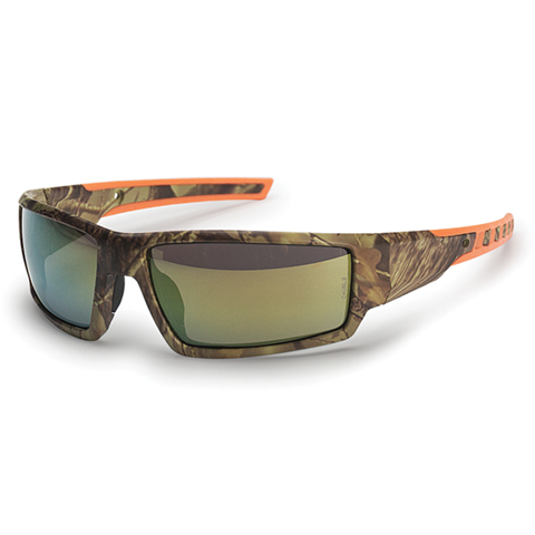 Stihl 7010-884-0389 Hunter's Camo Glasses Gold Mirror