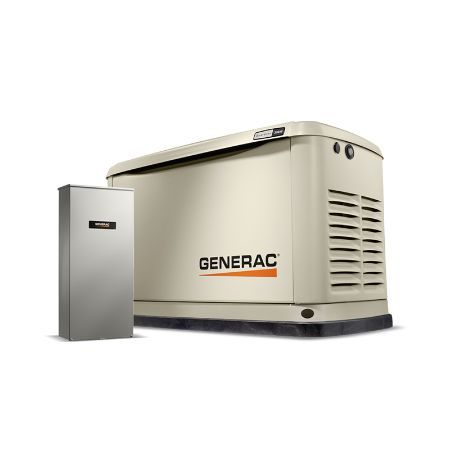 Generac Home Backup Generator Guardian 20kW w/ Transfer Switch