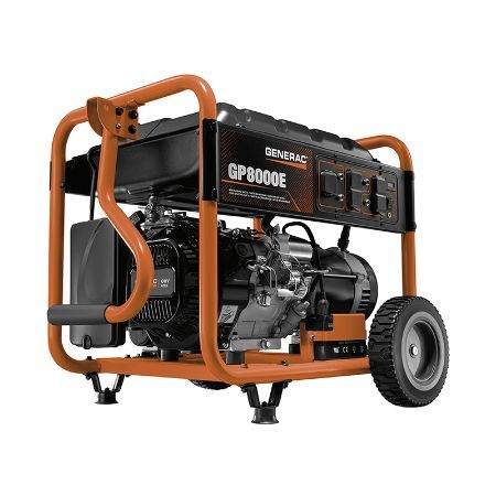 Generac Portable Generator GP Series 8000E