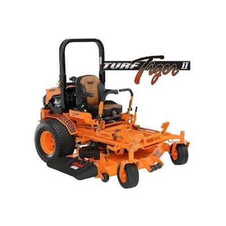 Scag Turf Tiger II Zero-Turn Mower 52